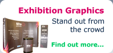 Exhibition Graphics - Stand out from the crowd - Find out more...